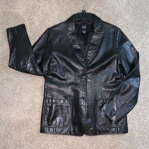 Women's Genuine Leather Jacket / Blazer Size Large